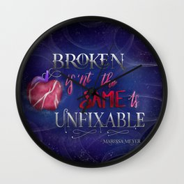 Broken Isnt The Same As Unfixable Wall Clock