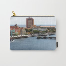 Busy Willemstad from Above Carry-All Pouch