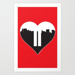 Love Gone Art Print