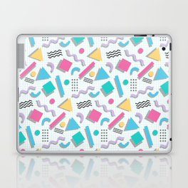 Memphis Shapes Laptop & iPad Skin