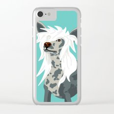 Chinese Crested Clear iPhone Case
