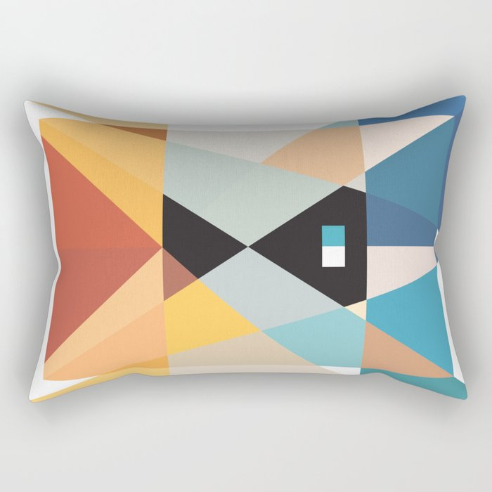 Deconstruct Ned Kelly Rectangular Pillow