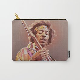 Jimi Hendrix Guitar God Carry-All Pouch