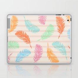 Dancing summer feathers Laptop & iPad Skin