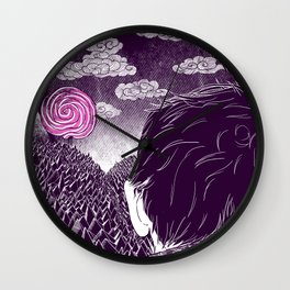Hardships of life Wall Clock