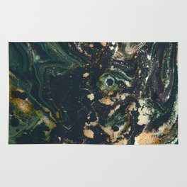 Fluid Gold Series II Rug