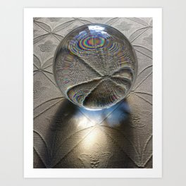 The Meaning Of Light Art Print