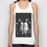 boys Tank Tops featuring Boys by Brianne Daigle