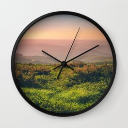 Sunset at Wonderland Wall Clock
