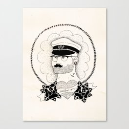 Sailin' on Canvas Print