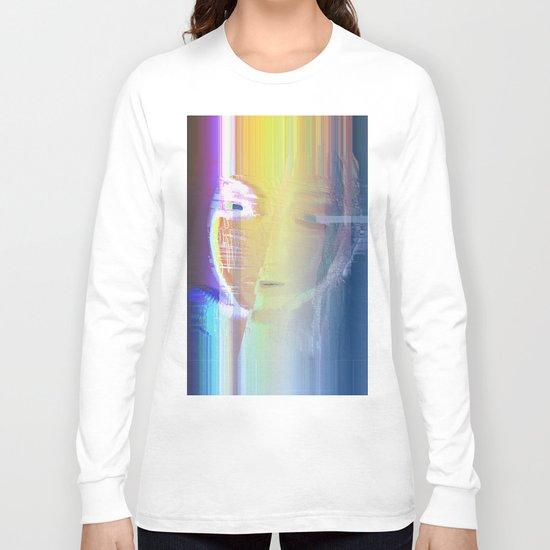 Ella / She / Portrait 2 - Column Long Sleeve T-shirt