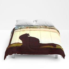 Tosca's Winter Window Comforters