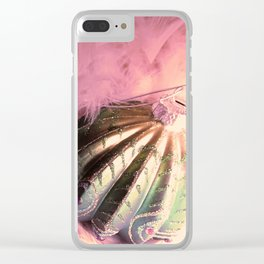 Christmas Dreams Clear iPhone Case