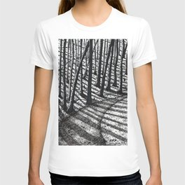'Trees and Shadows' T-shirt