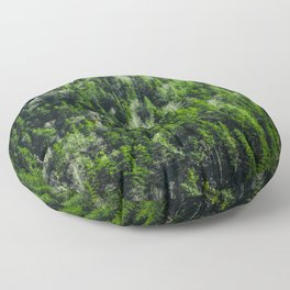 Forest pattern Floor Pillow