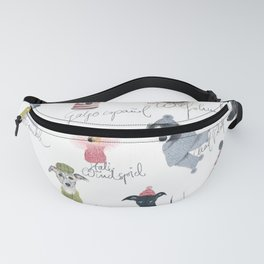 All Sighthounds Fanny Pack