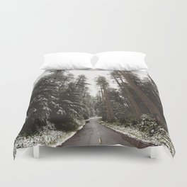 Redwood Forest Adventure II - Nature Photography Duvet Cover
