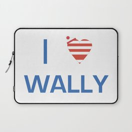 I Heart Wally Laptop Sleeve