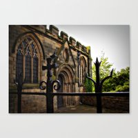 medieval Canvas Prints featuring Medieval by Barbara Gordon Photography