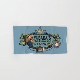 Yubaba's Bathhouse Hand & Bath Towel