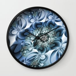 Dynamic Spiral, Abstract Fractal Art Wall Clock