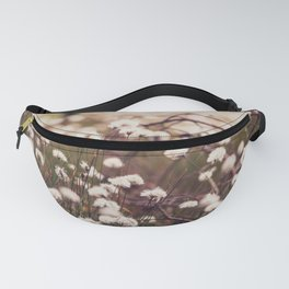 #Spring in the #bog, #cotton #grass #bloomed Fanny Pack