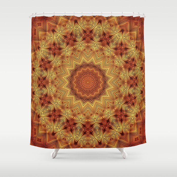 Wicker Pattern Fun Shower Curtain