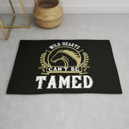 Horse - Wild Hearts Can't Be Tamed Rug