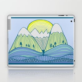 Come Play on the Mountains Laptop & iPad Skin
