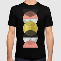 Moonlight Black LARGE Mens Fitted Tee