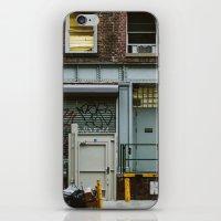 grafitti iPhone & iPod Skins featuring Grafitti Streets by Jillian VanZytveld