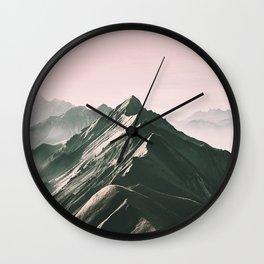 PinkMountain Wall Clock