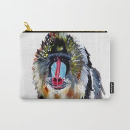 Baboon Carry-All Pouch