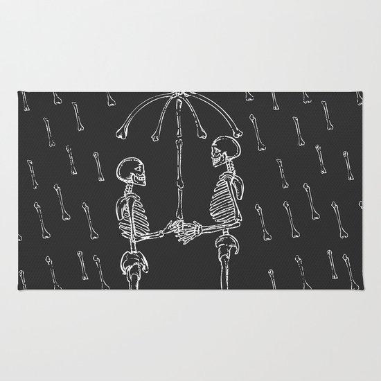 Raining Bone Rug