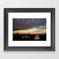 The Big House Framed Art Print