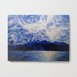 Blue Mountain No.1 Metal Print
