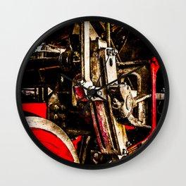 Vintage Steam Engine Locomotive - Driving Gear Wall Clock
