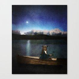 le taureau et la lune Canvas Print