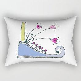 Shoe-Kick Rectangular Pillow