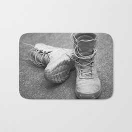 A Mile in My Boots Bath Mat