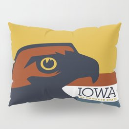 Iowa - Redesigning The States Series Pillow Sham