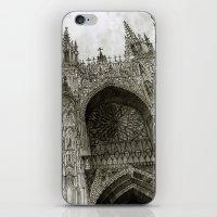 takmaj iPhone & iPod Skins featuring Rouen facade by takmaj