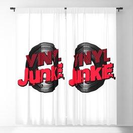 Vinyl Junkie Blackout Curtain