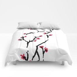Cherry Blossom #3 Comforters