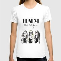 haim T-shirts featuring Haim Days are gone by Mariam Tronchoni