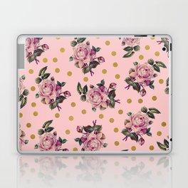 Pink Roses on Pink Laptop & iPad Skin