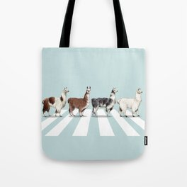Llama The Abbey Road #1 Tote Bag