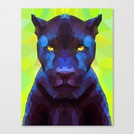 Acid Panther Canvas Print