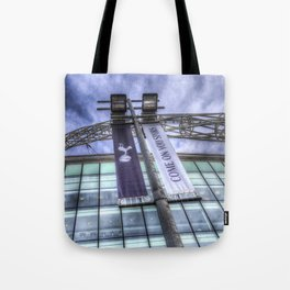Come on You Spurs Wembley Stadium Tote Bag