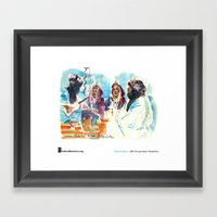 """Isabel Fiadeiro, """"Singing About Exile, Touaregs"""" Framed Art Print"""